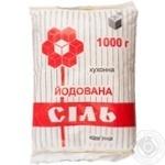 Salt Artyomsol iodinated 1000g sachet