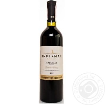 Inkerman Saperavi Red Dry Wine 14% 0,75l - buy, prices for Novus - image 1