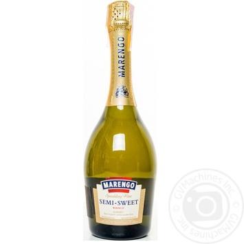 Вино игристое Marengo полусладкое Bianco белое 10-13,5% 0,75л