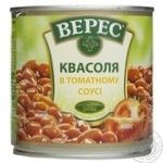 Vegetables kidney bean Veres in tomato sauce 400g can