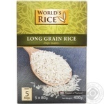 World's Rice in Packages Long Grain Rice 400g