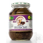 Mushrooms bay bolete Charme pickled 480g glass jar