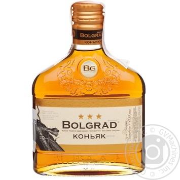Bolgrad Ordinary 3 Stars Cognac 40% 0,25l