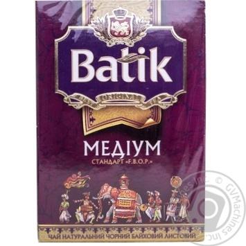 Чай Батик черный среднелистовой 100г