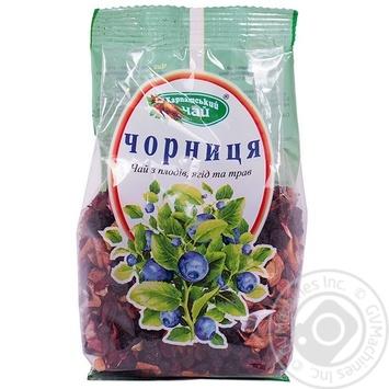 Чай Черника Карпатский Чай 100г