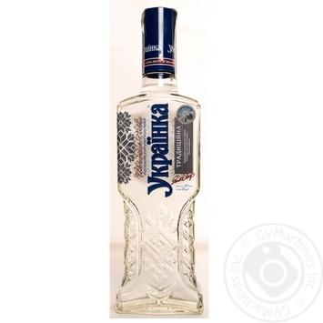 Водка Украинка Традиционная 40% 0,5л