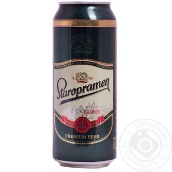 Скидка на Пиво Старопрамен светлое 4% 500мл Украина