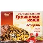 Каша Ваша каша гречневая ассорти 40г х 5 шт Украина