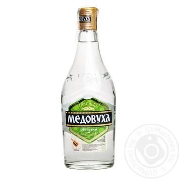 Горілка Медовуха Майська особлива 40% 0,5л - buy, prices for Novus - photo 1