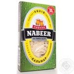 Snack squid Nabeer salted dried for beer 100g