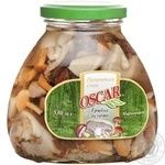 Mushrooms Oscar canned 530ml glass jar China