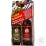 Wine Dedushka valiko red semisweet 9-12% 2pcs 1500ml