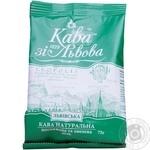 Кава Кава зі Львова Львівська натуральна смажена мелена 75г