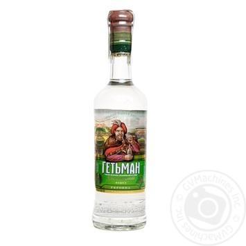 Водка Гетьман Хмельницкий на укропе 0,5л - купить, цены на Фуршет - фото 1