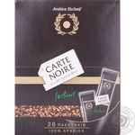 Coffee Carte noire instant 52g stick sachet