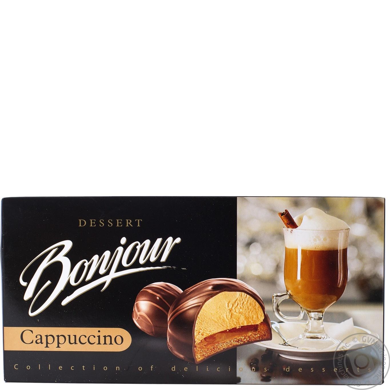 десерт конти бонжур капучино 232г
