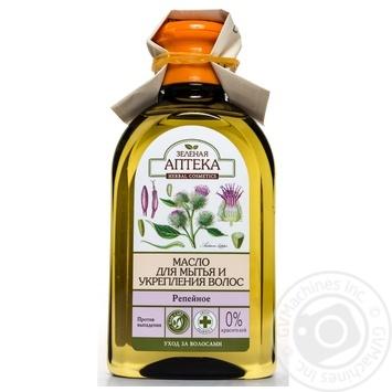 Маска для волосся Зелена аптека олія реп'яхова 250мл