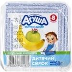 Творог Агуша яблоко-банан для детей с 8 месяцев 3.9% 50г