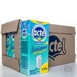 Молоко Lactel Легкое утро низколактозное 1,5% т/б 1000г