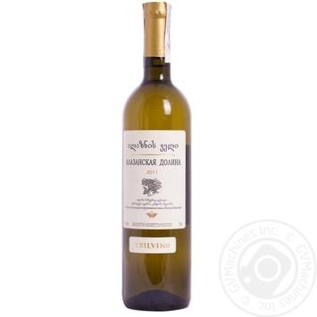 Вино Tbilvino Alazani Valley біле напівсолодке 12% 0,75л