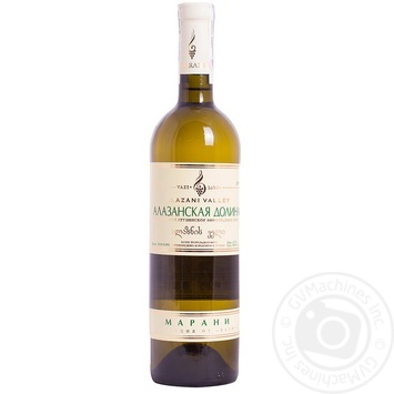 Вино бiле напiвсолодке Алазанська долина Марані 0,75л