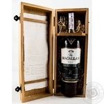 Whiskey Macallan 43% 21yrs 700ml glass bottle Scotland