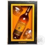 Виски Glenmorangie Original 10 лет 40% 0,7л + 2 стакана в подарочной упаковке