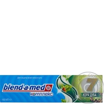 Зубная паста Blend-a-med Комплекс 7 Кора Дуба 100мл - купить, цены на МегаМаркет - фото 8