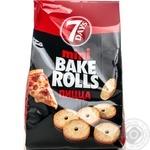 Хлебные кольца 7 Days Мини Bake Rolls Пицца 80г