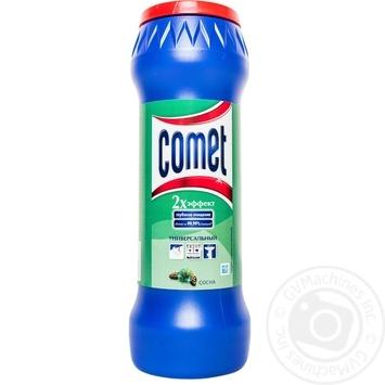 Порошок Comet Сосна Двойной эффект чистящий универсальный 400г Россия