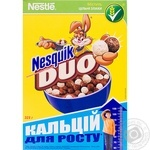 Dry breakfast Nestle with chocolate 325g Poland