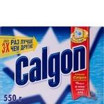 Засіб Calgon 2 in 1 для пом'якшення води в пральних машинах порошок 550г Росія