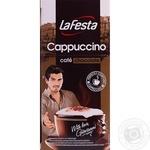 Напиток капучино Ла феста с шоколадным вкусом растворимый в стиках 10х12.5г Польша