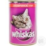 Whiskas Beef In Sauce For Cats Food