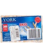 Folding York wooden 20pcs