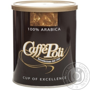 Natural roasted ground coffee Caffe Poli 100% Arabica 250g Italy - buy, prices for MegaMarket - image 4