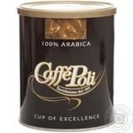 Кава Каффе Полі 100% Арабіка натуральна смажена мелена 250г Італія