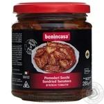 Vegetables tomato Benincasa sun dried 285g glass jar Italy