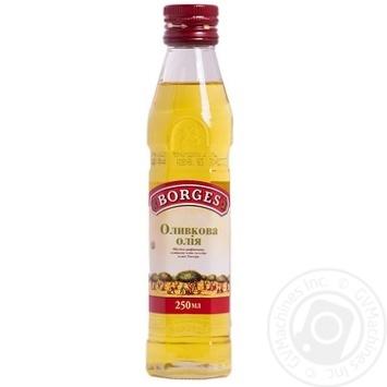 Масло Боргес оливковое экстра вирджин рафинированное 250мл Испания