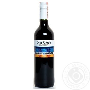 Don Simon Cabernet Sauvignon Red Dry Wine 12,5% 0,75l