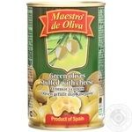 Maestro de Oliva Green Olives with cheese 300ml