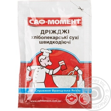 Saf-Moment Fast-acting Dried Baking Yeast - buy, prices for MegaMarket - image 1