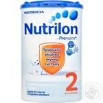 Суміш молочна Нутриція Нутрилон 2 суха з пребіотиками з 6 до 12 місяців 800г Голландія