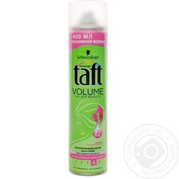 Лак для волос Taft 3 погоды Volume степень фиксации 4 350мл