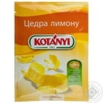 Цедра лимона Котани 14г