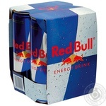 Energy drink Red bull pasteurized 0% 4pcs 250ml can Austria