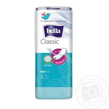 Прокладки гігєнічні Bella Classic Drainette 10шт