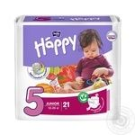 Подгузники Bella baby Happy 5 Junior 12-25кг 21шт