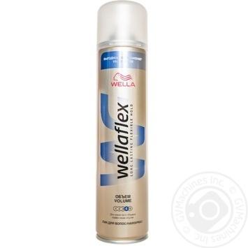 Лак Wellaflex Длительная поддержка объема для волос 400мл - купить, цены на Ашан - фото 1