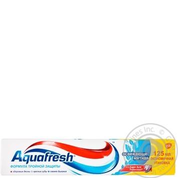 Зубная паста Aquafresh Освежающая мятная 125мл - купить, цены на Novus - фото 1